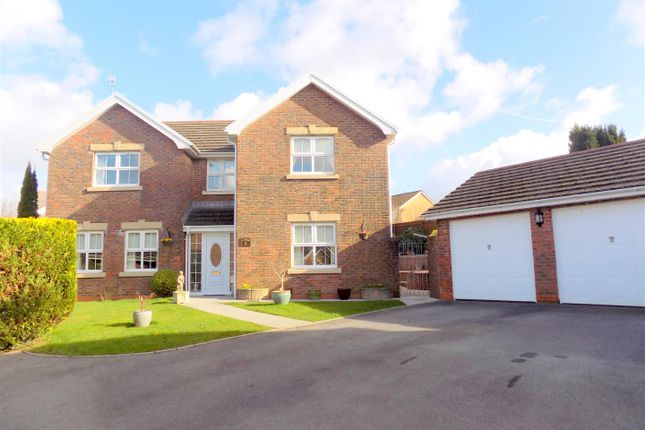 Thumbnail Detached house for sale in Dyffryn Woods, Bryncoch, Neath