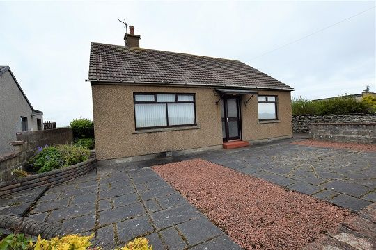 Thumbnail Bungalow for sale in The Bungalow, Janetstown, Thurso Road + 2 Acres, Wick