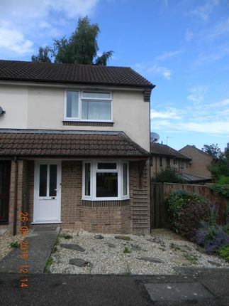 Thumbnail End terrace house to rent in Butts Close, Honiton