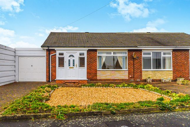 Thumbnail Bungalow for sale in Chadderton Drive, Chapel House, Newcastle Upon Tyne