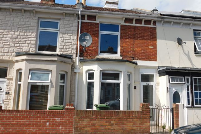 Thumbnail Terraced house to rent in Walden Road, Portsmouth