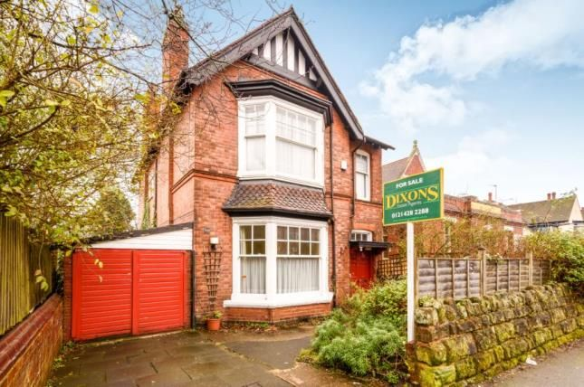 Thumbnail Detached house for sale in Gillott Road, Birmingham, West Midlands