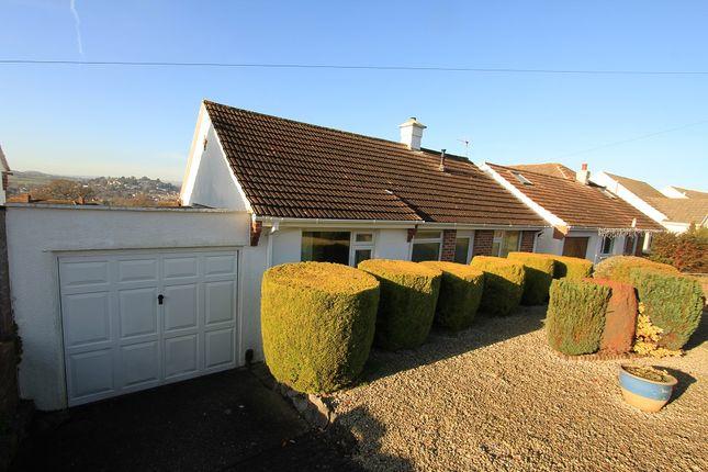 Thumbnail Detached bungalow for sale in Haytor Grove, Newton Abbot, Devon