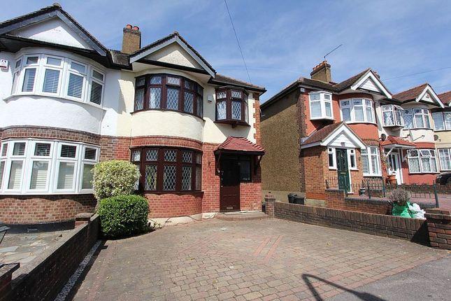 Thumbnail Semi-detached house for sale in Kensington Drive, Woodford Green, London