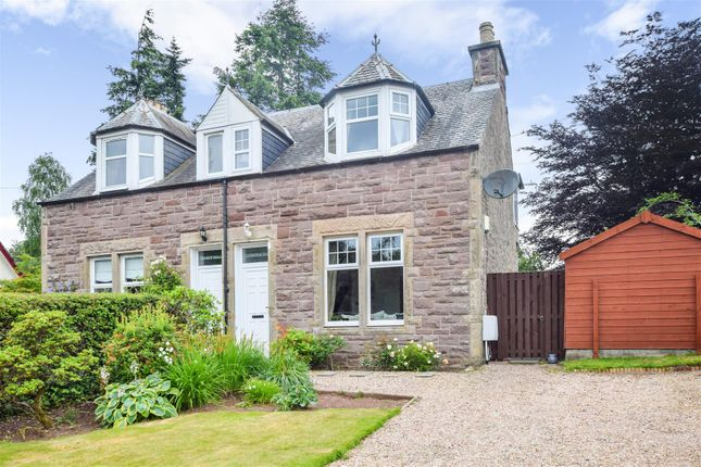 Thumbnail Semi-detached house for sale in Cairnvrackan, Western Road, Auchterarder