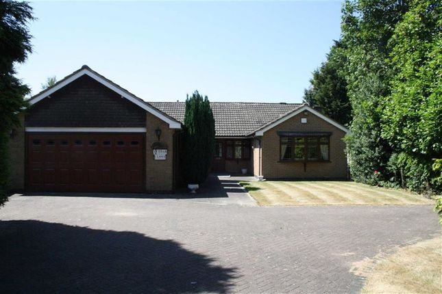 Thumbnail Detached bungalow for sale in Cedar Close, Glenfield, Leicester