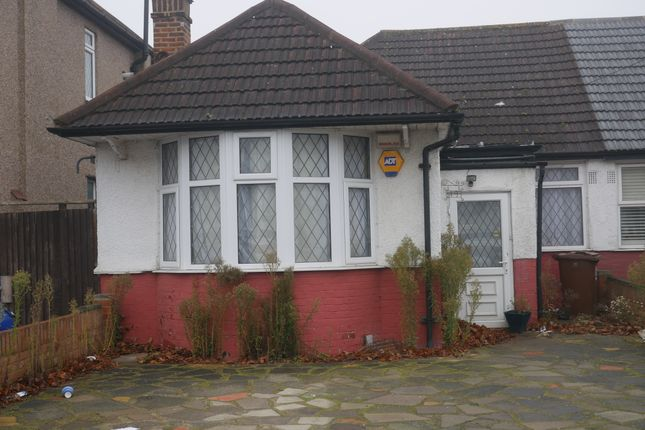 Thumbnail Bungalow to rent in Dudley Road, South Harrow