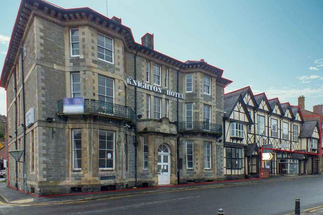 Thumbnail Hotel/guest house for sale in Broad Street, Knighton