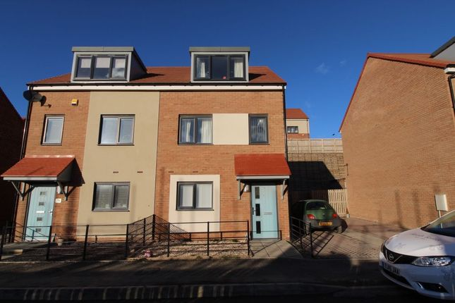 Thumbnail Semi-detached house for sale in Featherwood Avenue, Newcastle Upon Tyne
