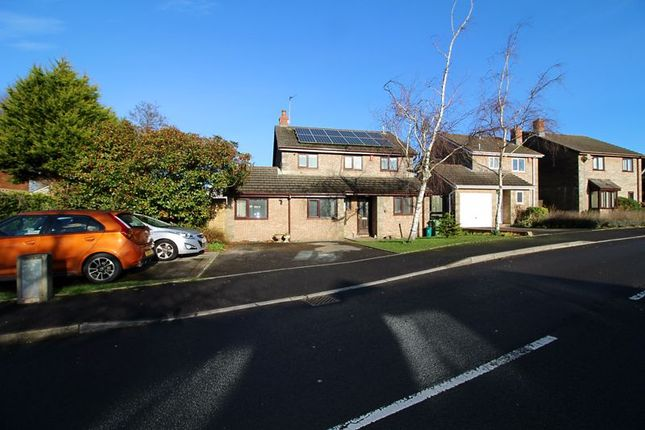 Thumbnail Detached house for sale in Manor Chase, Beddau, Pontypridd