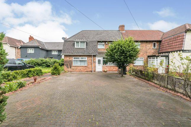 Thumbnail Semi-detached house for sale in Yardley Green Road, Bordesley Green, Birmingham