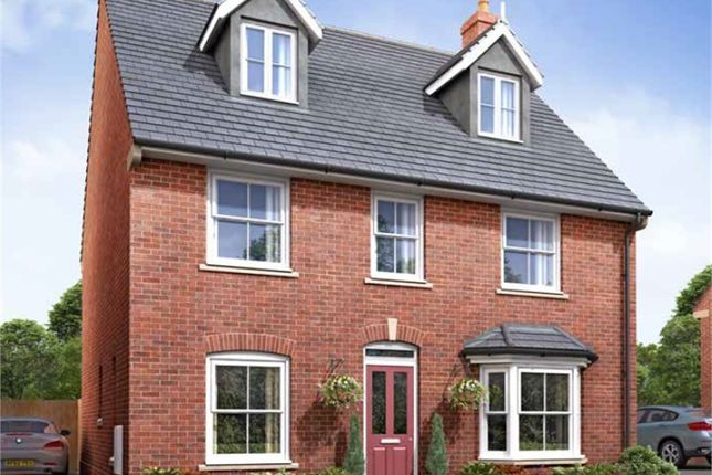 Thumbnail Detached house for sale in Parklands, Woburn Sands, Milton Keynes, Buckinghamshire