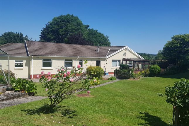 Thumbnail Detached bungalow for sale in Plas Gwyn Road, Penygroes, Llanelli