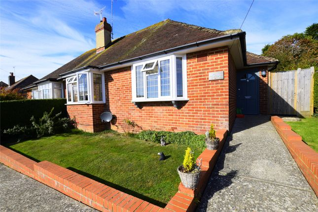 Thumbnail Semi-detached bungalow for sale in Pembury Grove, Bexhill-On-Sea, East Sussex