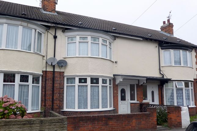 Thumbnail Terraced house to rent in Newcomen Street, Hull, East Riding Of Yorkshire