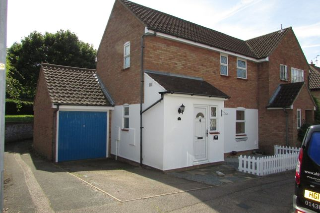 Thumbnail Semi-detached house to rent in Beane Avenue, Stevenage
