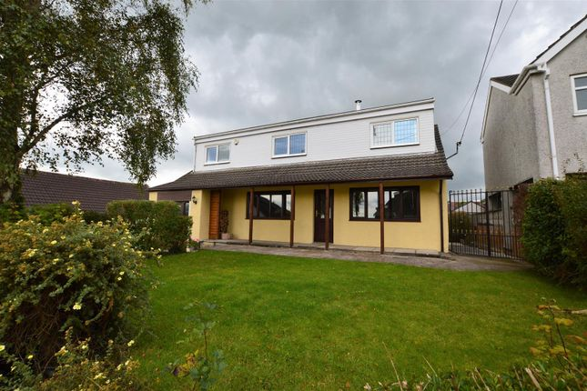 Thumbnail Detached house for sale in Gellifedi Road, Brynna, Pontyclun