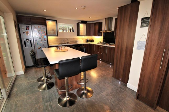 Thumbnail Detached house for sale in Robinia Close, Lutterworth