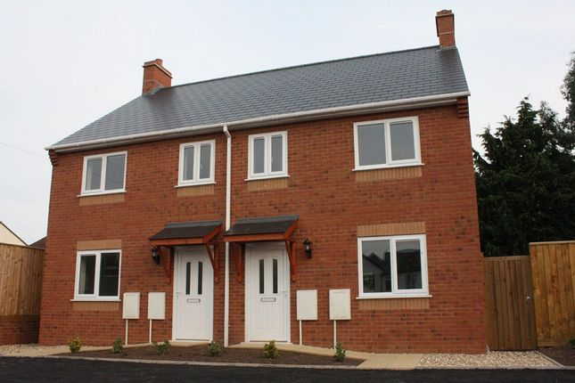 Thumbnail Semi-detached house to rent in 4 Red Cross Court, King Street, Honiton