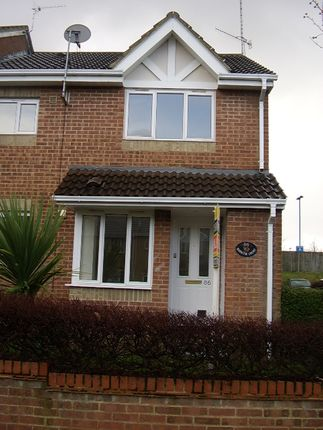 Thumbnail End terrace house to rent in Barnum Court, Swindon