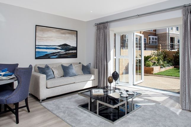 Thumbnail Town house for sale in Flambard Way, Godalming, Surrey