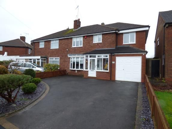 Thumbnail Semi-detached house for sale in Bassnage Road, Hasbury, Halesowen, West Midlands