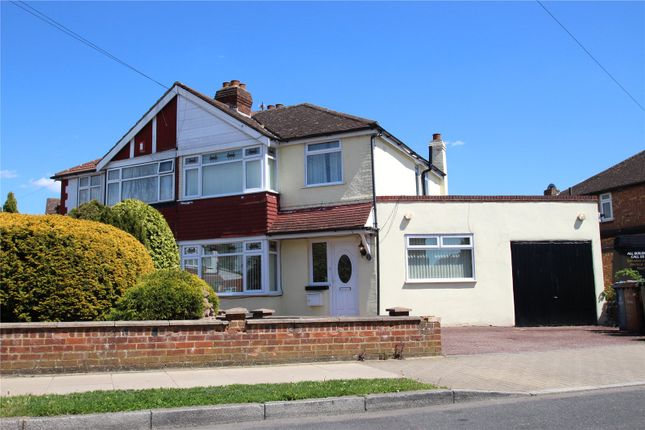 Thumbnail Semi-detached house to rent in Morley Crescent West, Stanmore