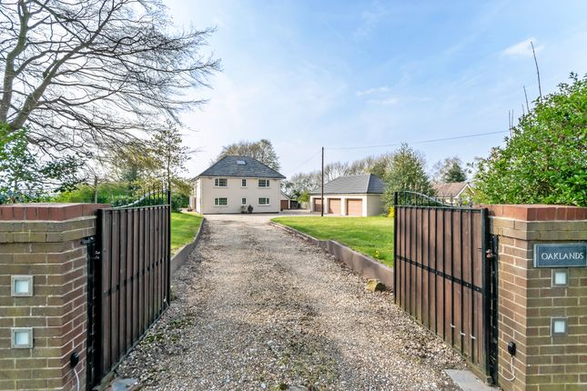 Thumbnail Detached house for sale in Chester Road, Higher Walton, Cheshire