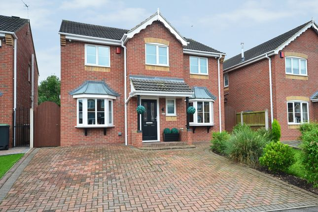 Thumbnail Detached house for sale in Parma Grove, Meir Hay, Stoke-On-Trent