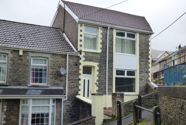 Thumbnail End terrace house for sale in Ivor Street, Pontycymer, Bridgend