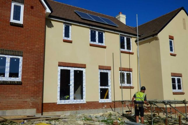 Thumbnail Terraced house for sale in Curtis Way, Weymouth
