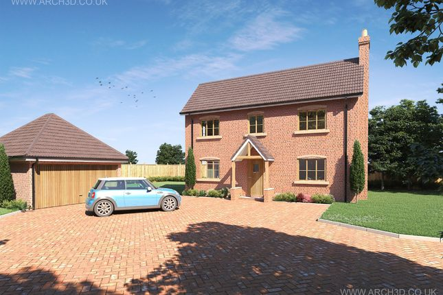 Thumbnail Detached house for sale in Nuneaton Road, Fillongley, Coventry