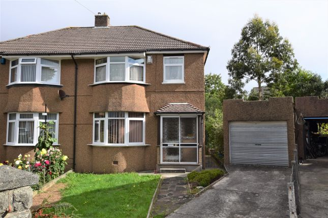 Thumbnail Semi-detached house for sale in Caernarvon Gardens, Beacon Park, Plymouth