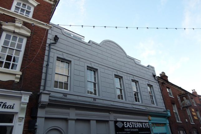 Thumbnail Flat to rent in Bird Street, Lichfield