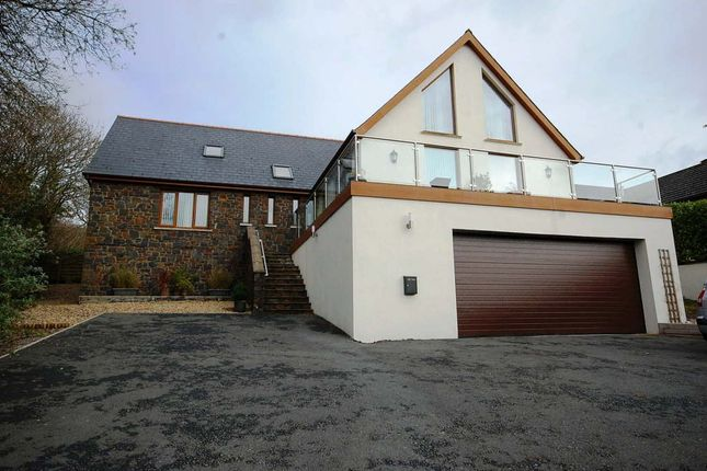 5 bed detached house for sale in Pleasant Valley, Stepaside, Pembrokeshire