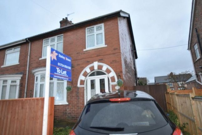 Thumbnail Semi-detached house to rent in Agard Avenue, Scunthorpe