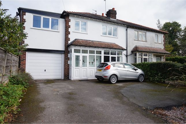 Thumbnail Semi-detached house for sale in Hawthorn Street, Wilmslow