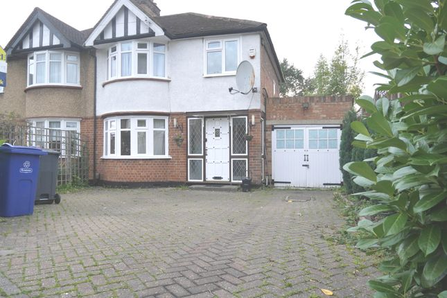 Thumbnail Semi-detached house to rent in Belsize Road, Harrow
