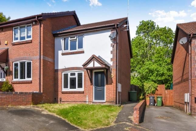 Thumbnail Semi-detached house for sale in Plymouth Close, Redditch, Worcestershire