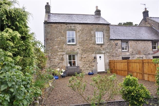 Thumbnail End terrace house for sale in Low Park, West Woodburn, Northumberland.