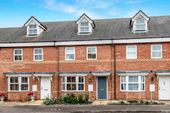 Thumbnail Terraced house for sale in Sandleford Drive, Elstow, Bedford, Bedfordshire