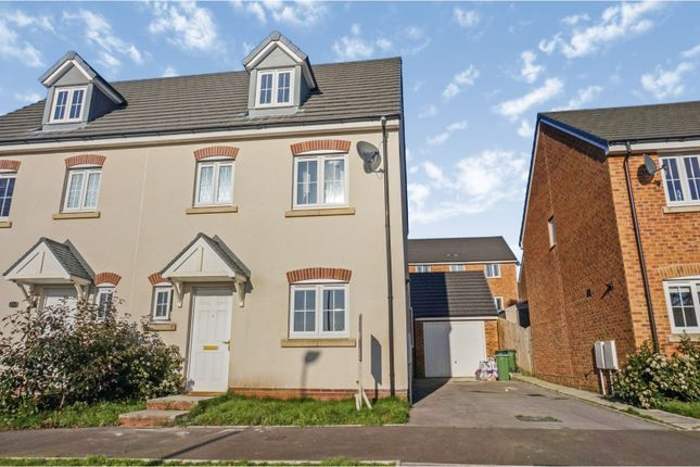 Thumbnail Semi-detached house for sale in Dyffryn Y Coed, Church Village, Pontypridd