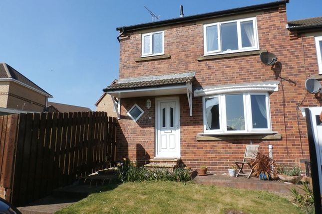 Thumbnail Semi-detached house to rent in Coopers Close, Alnwick