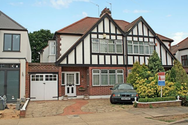 Thumbnail Semi-detached house for sale in Beauly Way, Rise Park, Romford