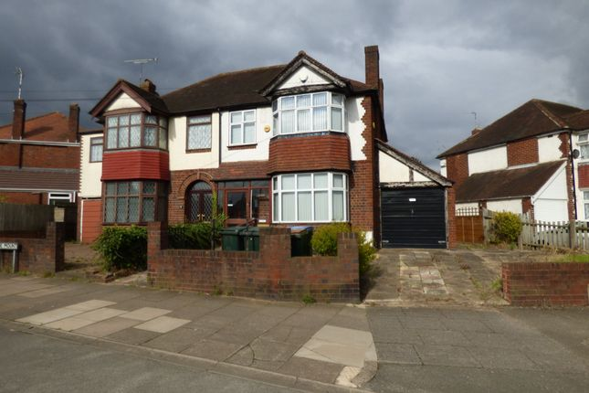 Thumbnail Semi-detached house to rent in Daventry Road, Cheylesmore, Coventry