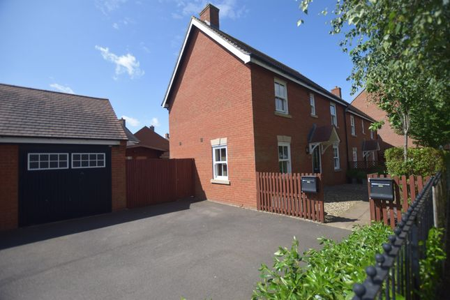 Thumbnail Semi-detached house for sale in Swan Road, Wixams, Bedford