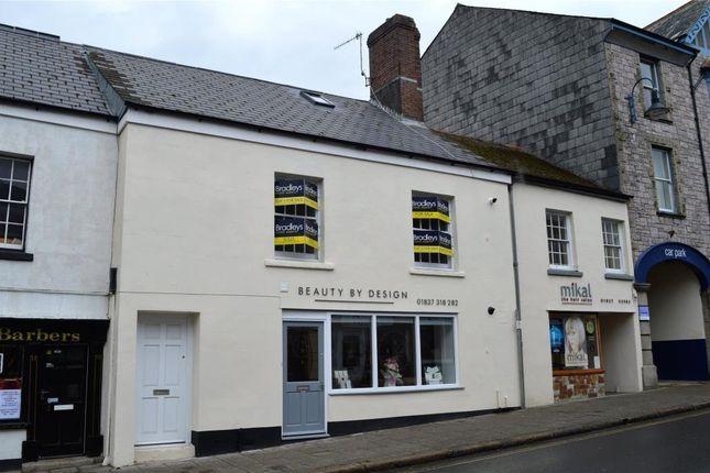 Thumbnail Flat for sale in East Street, Okehampton, Devon