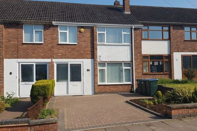 Thumbnail Terraced house to rent in 4 Bedroom, Unfurnished, Terrace House, Princethorpe Way, Coventry