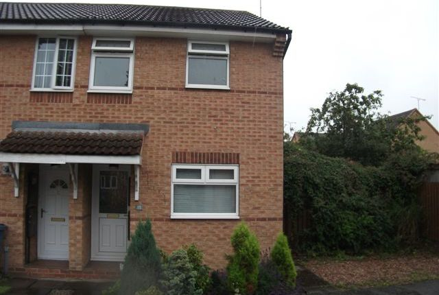 Thumbnail End terrace house to rent in Cusworth Way, Worksop, Notts
