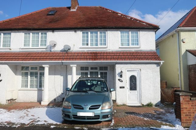 Thumbnail Flat to rent in Stuart Crescent, Hayes